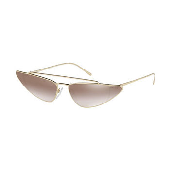 Prada Metal Cat-Eye Sunglasses