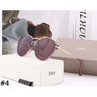 Dior 2019 new personality irregular women's polarized sunglasses #4