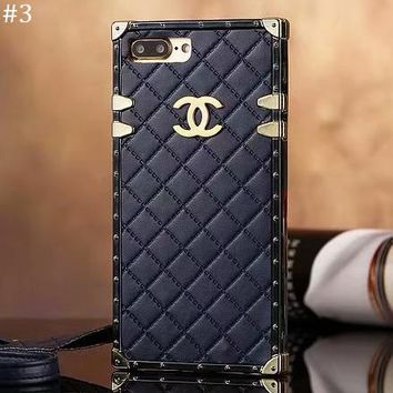 Tide brand all-inclusive anti-fall rhombic iPhoneX mobile phone case cover #3