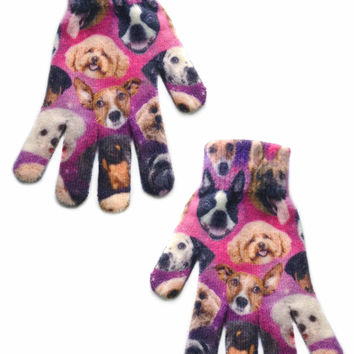 Galaxy Dog Gloves