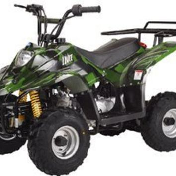 "110cc Four Wheelers 6"" Tires Atvs, Pink Camo"