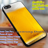 Beer Mug Drink Foam Glass Cases for iPhone 4/4s/5/5c/6/6+/6s/6s+ Samsung Galaxy S4/S5/S6/Edge/Edge+ NOTE 3/4/5 #movie dl1
