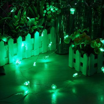 Copper Wire 330CM 30 LED String Light Cactus Shaped LED String Fairy Lamp Christmas Wedding Hallowmas Party Room Decoration