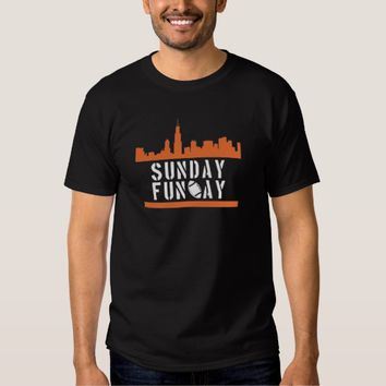Sunday Funday Black T-Shirt Man