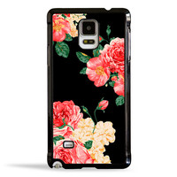 Large Carnation Flowers Case for Samsung Galaxy Note 4