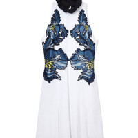 Erdem Hudson Dress - Floral Applique Dress