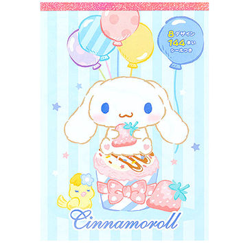 Buy Sanrio Cinnamoroll Memo Pad with 8 Designs & Stickers at ARTBOX