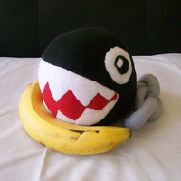 Chain Chomp Plush Toy by GamePunkArts on Etsy