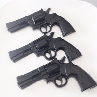 Gun Soap - Gamer, Call Of Duty, Police Officer, Party Favor, Gift for Guys, Gamer Girl, Set of 3 Gun Soaps