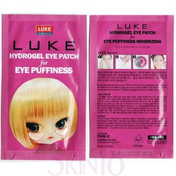 [ BUY1GET1 ] Luke Hydrogel Eye Patch for Eye Puffiness (Purple)  *exp.date 09/18*
