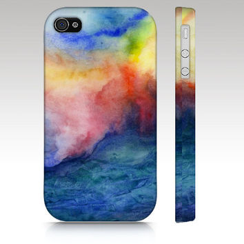 iPhone Case, iPhone 5 case, iPhone 4s, watercolor design, abstract painting, art for your phone