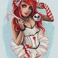 Merry X Mas By Anna Marine Art Cross Stitch Kit