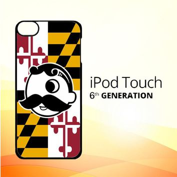 Natty Boh Flag X3261 iPod Touch 6 Case
