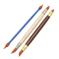 Silicon Shaper Pen Pottery Clay Sculpture Tools Carving Modeling Shaping Tool Playdough Tool
