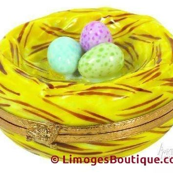 Robin's Nest Limoges Boxes