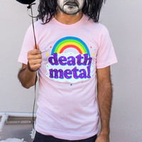 Men's Death Metal Rainbow Tshirt