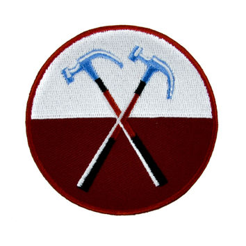 Pink Floyd The Wall Hammers Patch Iron On Applique Alternative Clothing