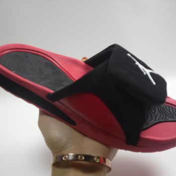 SPBEST Nike Jordan Slippers Red