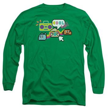 Amazing World Of Gumball - Cool Oh Yeah Long Sleeve Adult 18/1 Officially Licensed Shirt