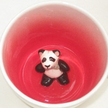 Mini Panda Teddy Surprise Mug