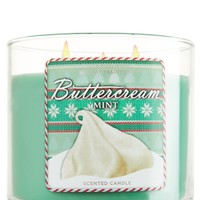 14.5 oz. 3-Wick Candle Buttercream Mint