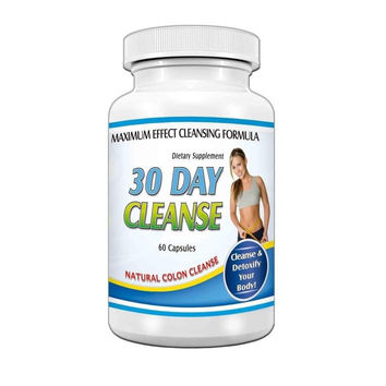 30 Day Weight Loss System Maximum Diet Formula Detox Cleansing Pills