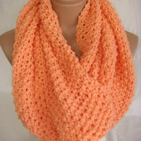 Salmon scarf  by Arzu's Style