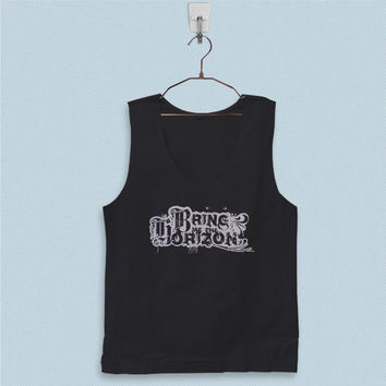 Men's Basic Tank Top - Bring Me The Horizon Logo