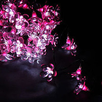 MIDNIGHT FLOWER PINK 50 LED LIGHT GARLAND  ?36.00