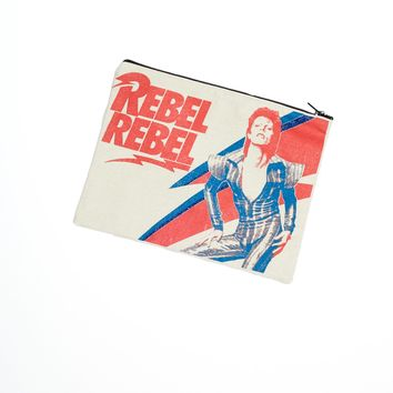Rebel Rebel David Bowie Canvas Bag