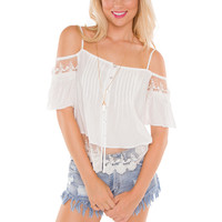 Becky Lace Crop Top