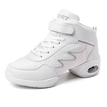 New Dancing Shoes For Women Sneakers Dance Ladies Dance Rubber Jazz Hip Hop Best Shoes Woman