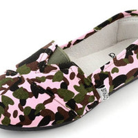 Corkys Sues Pink Camo Shoes
