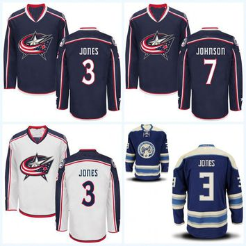 Youth Columbus Blue Jackets Jersey 3 Seth Jones 8 Zach Werenski 17 Brandon Dubinsky 71 Nick Foligno 72 Sergei Bobrovsky Hockey Jerseys