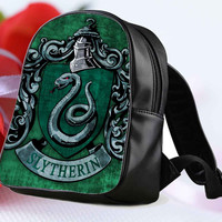 "Harry Potter Slytherin Crest for Backpack / Custom Bag / School Bag / Children Bag / Custom School Bag ""NP"""