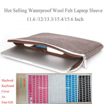 Case for Laptop 11.6 Inch Men Felt Laptop Sleeve for Dell Inspiron 13 High Quality Gearmax Brand 15 Notebook Computers Lenovo 14