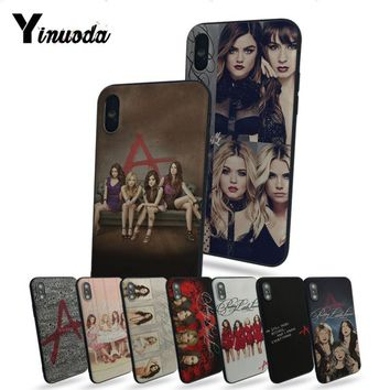Yinuoda Pretty Little Liars tv  Luxury Quality Phone Case For iphone 6 6s 6plus 6S plus 7 7plus 8 8plus 5 5s 5C Case cover