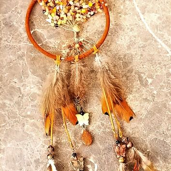 Fall Feather Tree Dream/Sun Catcher