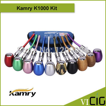 New design kamry k1000 ecig mod e cigarette k1000 e pipe 3.5ml k1000 atomizer e pipe kit
