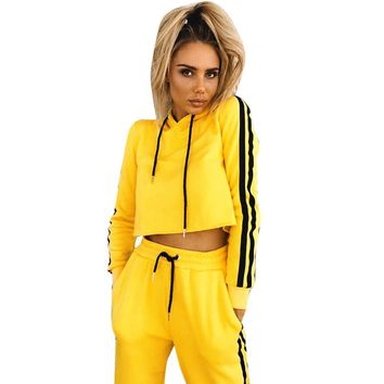 2018 New Sports Yoga Set/Autumn Long-Sleeved Hoodie/Running/Fitness/Sports Suits/Yoga Clothing