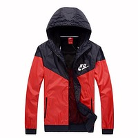 Trendsetter NIKE Women Men Lover Hooded Cardigan Jacket Coat