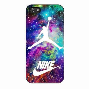 Michael Jordan on galaxy nebula new custom For IPHONE 4S Case *02*