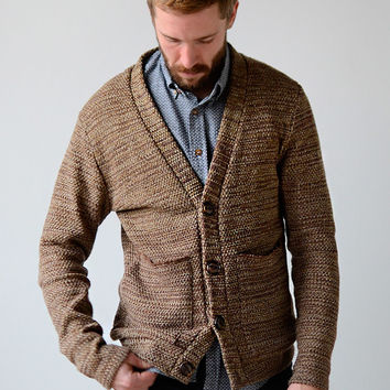Norman Russell Classic Pocket Cardigan [NR Kenny Cardigan Sweater] : ORN HANSEN, Vintage + American Made General Store