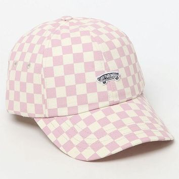ONETOW Vans Checkerboard Mauve Strapback Dad Hat at PacSun.com