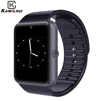 Kaimorui Smart Watch Heart Rate Pedometer Smartwatch with Call Reminder for Android and Iphone  Bluetooth Smart Watch