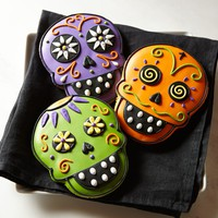 Day of the Dead Halloween Cookies