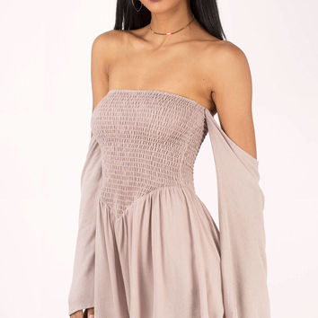 Desert Sky Off Shoulder Romper