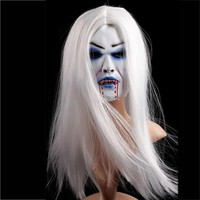 Ghost Face latex soft Halloween Mask