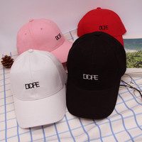 "Summer Gift Retro Embroidery Baseball Cap Unique Casual ""Dope"" Hat a12462"