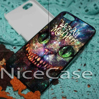 Alice In Wonderland Cheshire Cat Smile iPhone 4 / 4S / 5 Case Samsung Galaxy S3 / S4 Case Cover